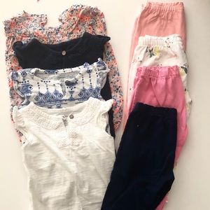 Bundle of 12 months Mix and match clothes